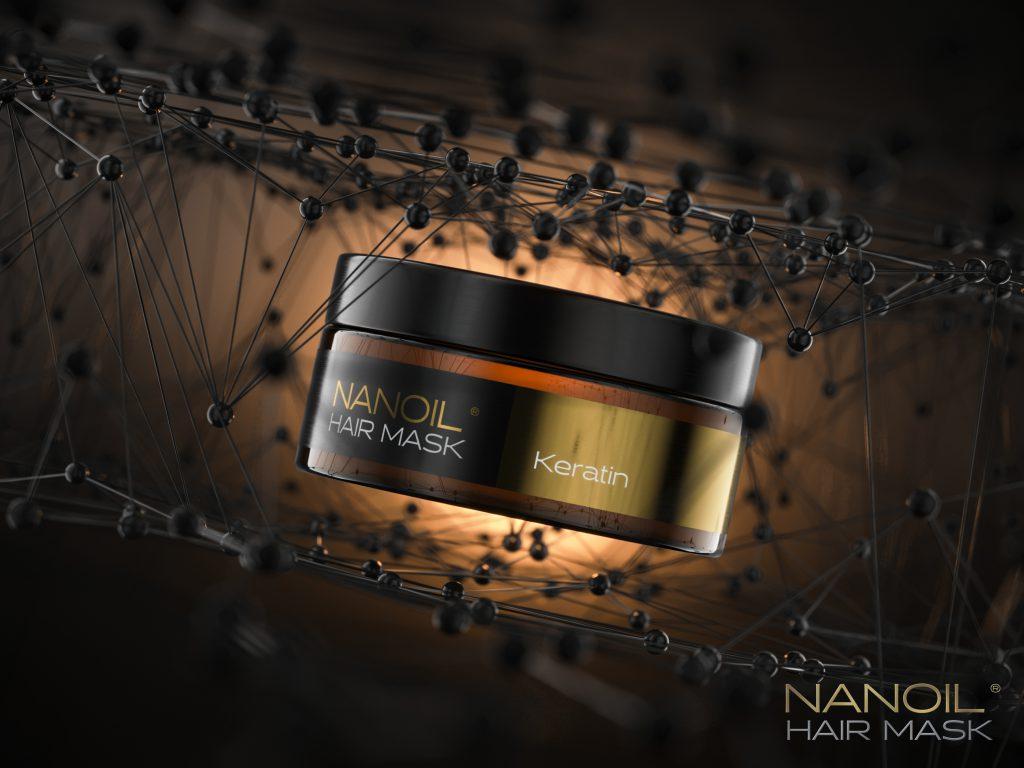 nanoil keratin mask for damaged hair